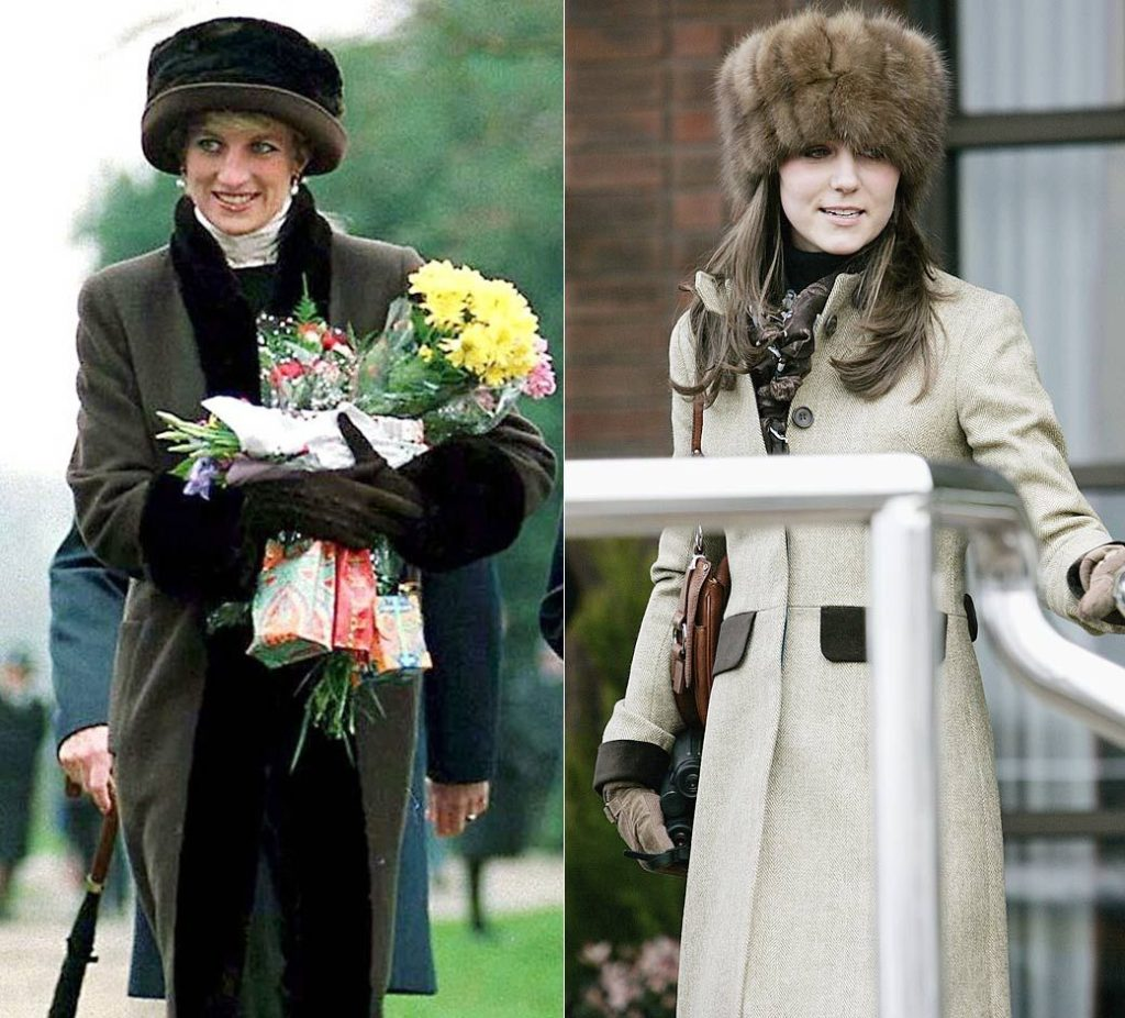 Kate Middleton Diana κοινές εμφανίσεις