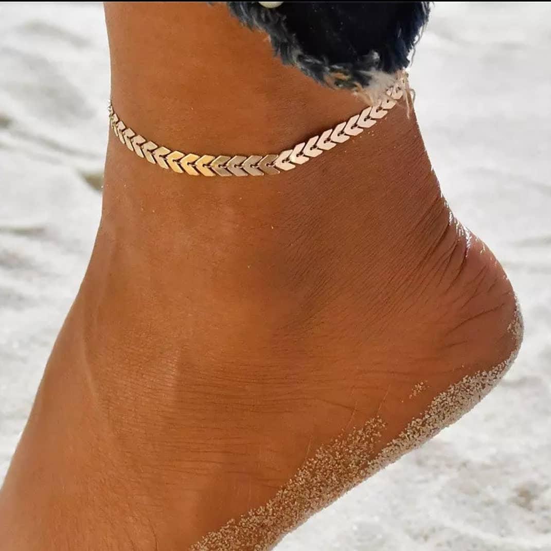 αλυσίδα στο πόδι τάση αξεσουάρ καλοκαίρι