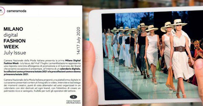 digital εβδομαδα μόδας Μιλάνο