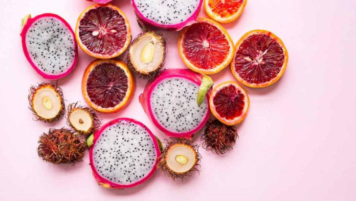χρώματα φρούτων